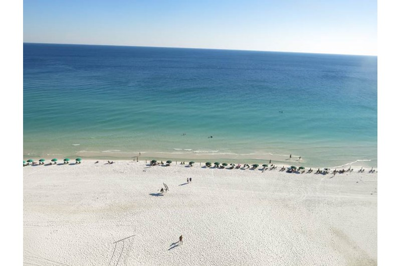 You will have an amazing direct view of the Gulf from Sundestin Beach Resort in Destin Florida