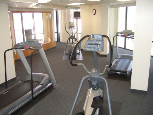 Fitness center at Surfside Resort