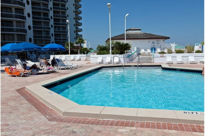 Refreshing pool at Surfside Resort in Destin Florida