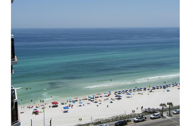 Gulf view from Surfside Resort in Destin Florida