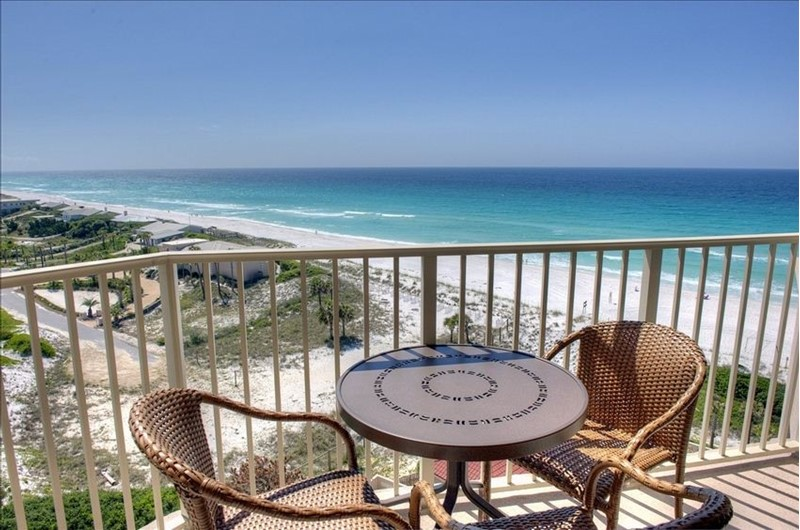 See for miles from TOPS'L Beach Manor in Destin Florida