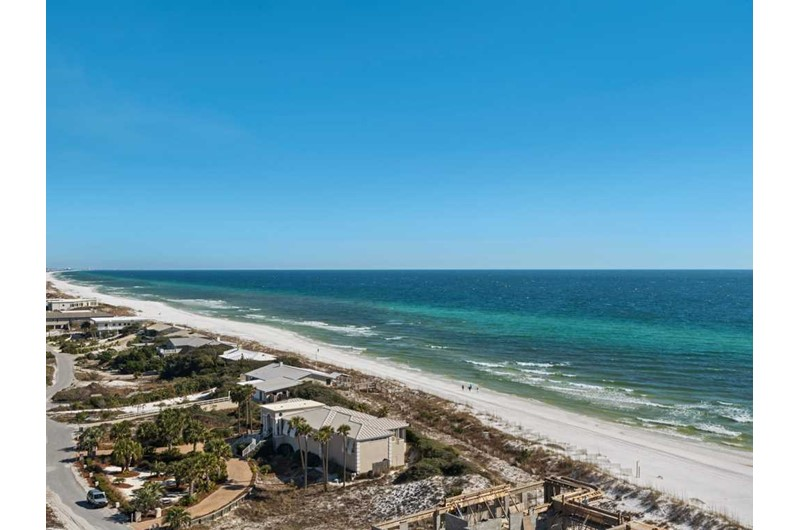 Enjoy a wonderful Gulf view from TOPS'L Beach Manor in Destin Florida