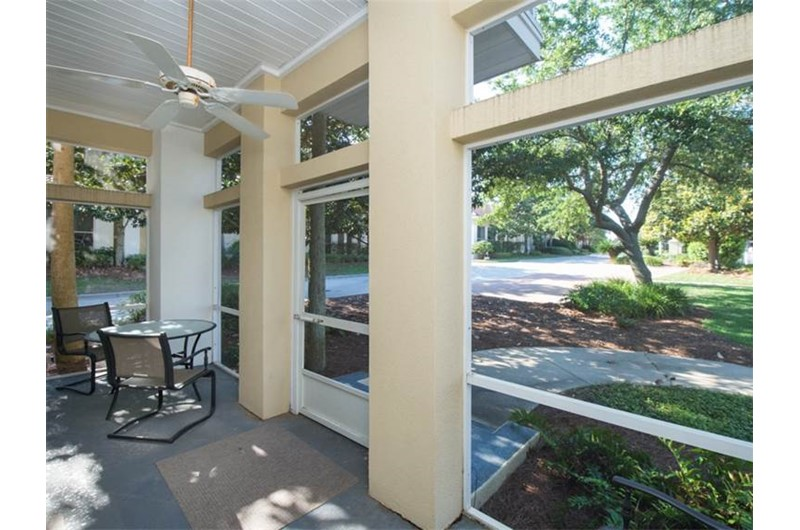Relax on the patio at a home at TOPS'L Captiva within TOPS'L Beach and Racquet in Destin Florida