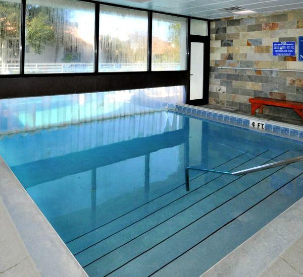 Indoor pool at TOPS'L Summit in Destin Florida.