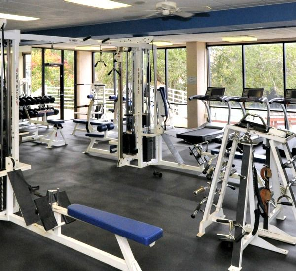 Fitness center at TOPS'L Summit in Destin Florida