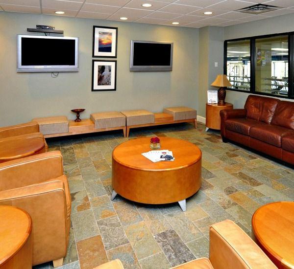 The lobby at TOPS'L Summit in Destin Florida