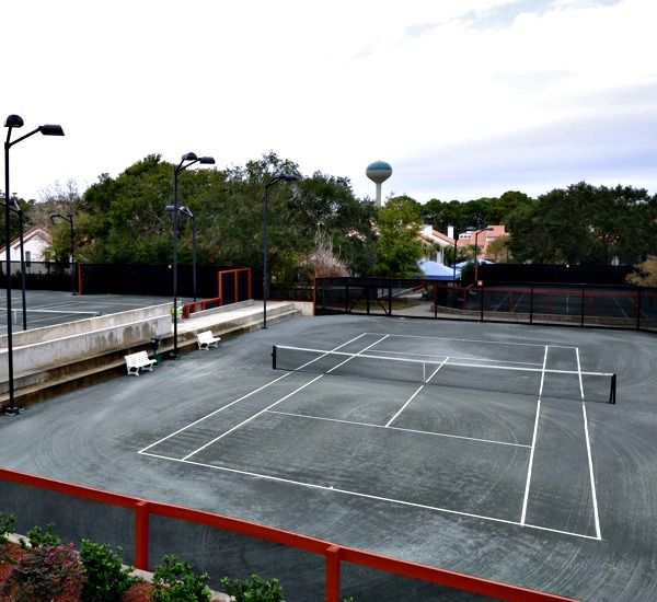 Tennis courts at TOPS'L Summit in Destin Florida.