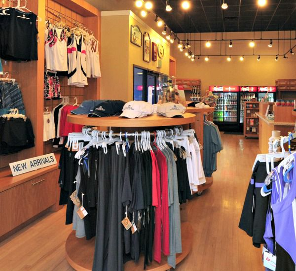 Gift shop at TOPS'L Summit in Destin Florida.