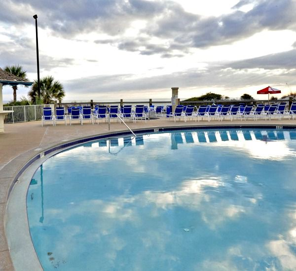 Kiddie pool and heated pool at TOPS'L Tides   in Destin Florida