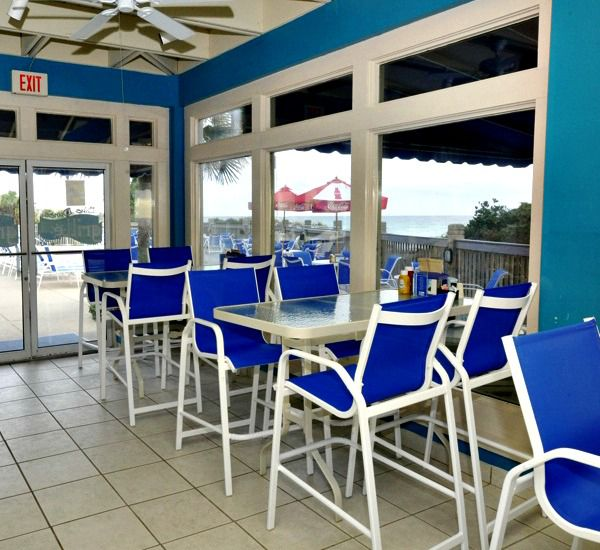 Deli and snack bar at TOPS'L Tides   in Destin Florida