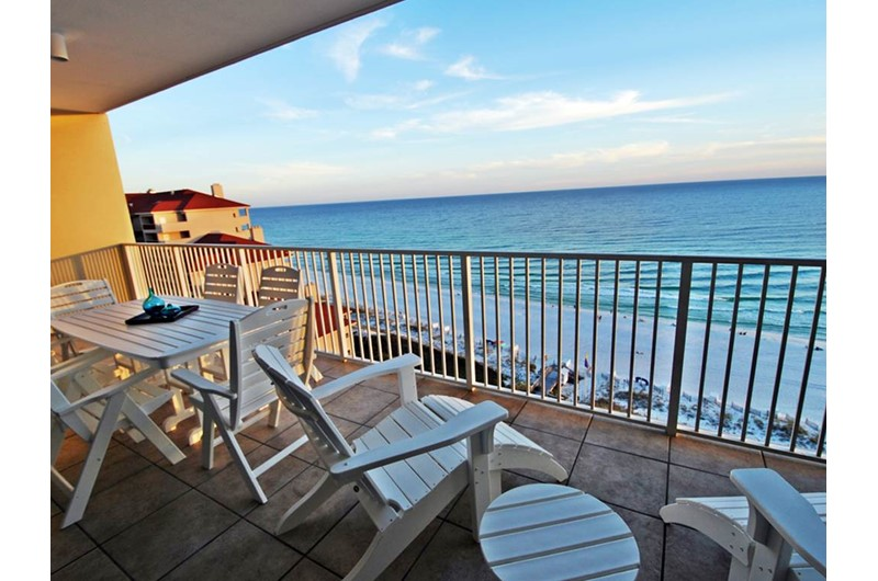 Relax and enjoy the view at TOPS'L Tides in Destin Florida