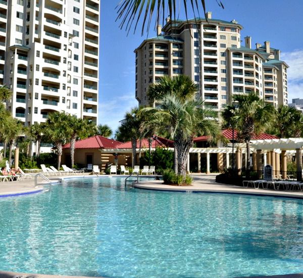 Enjoy a dip in the huge pool at Westwinds at Sandestin in Destin Florida