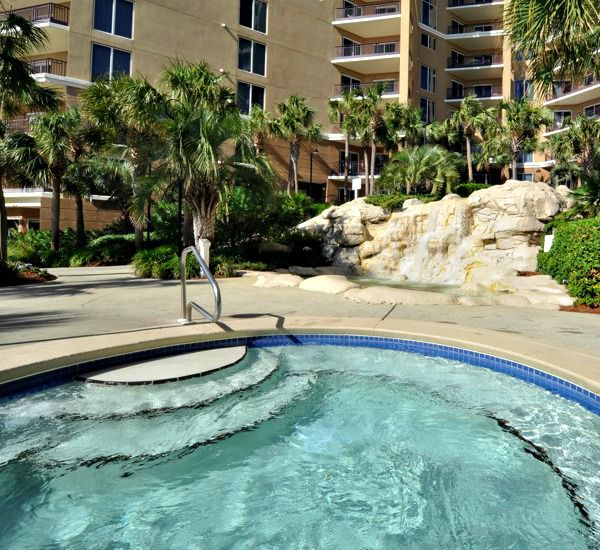 Relax in the hot tub at Westwinds at Sandestin in Destin Florida