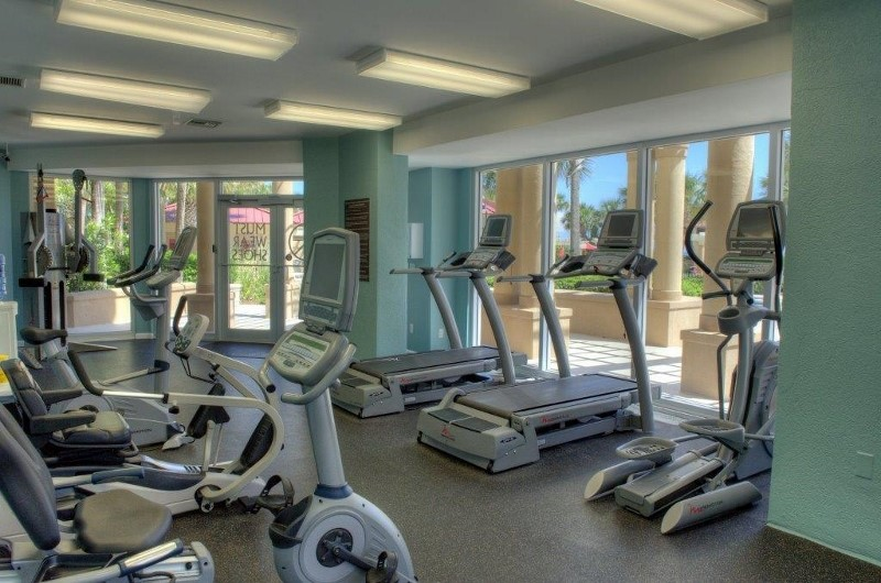 Work out in the gym at Westwinds at Sandestin in Destin Florida
