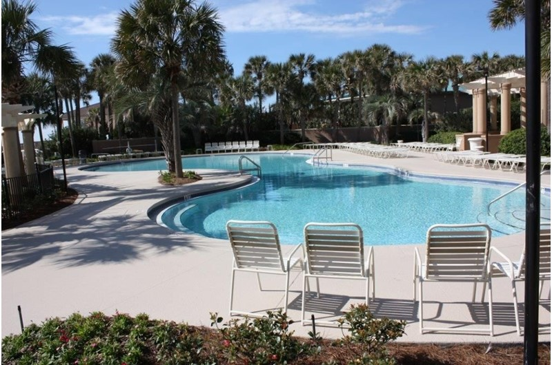 Plenty of room for the family  at the pool at Westwinds at Sandestin in Destin Florida