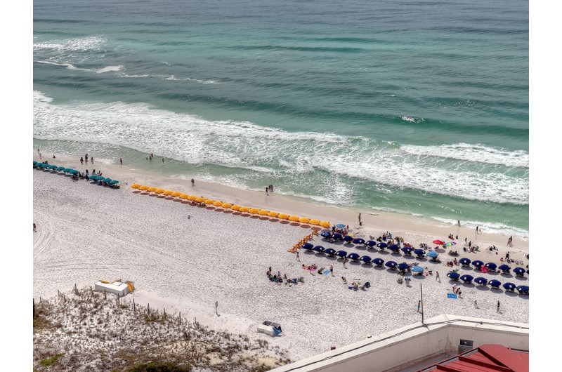 Enjoy a direct Gulf view from Westwinds at Sandestin in Destin Florida