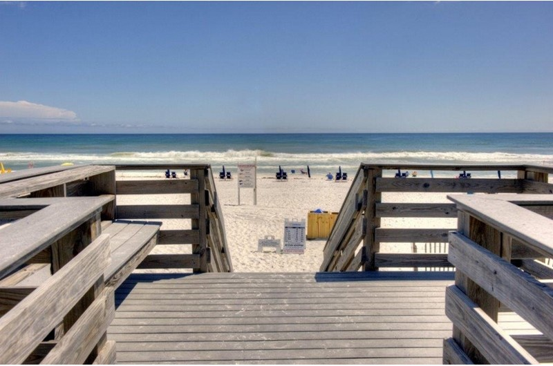 Easy access to the beach from Westwinds at Sandestin in Destin Florida