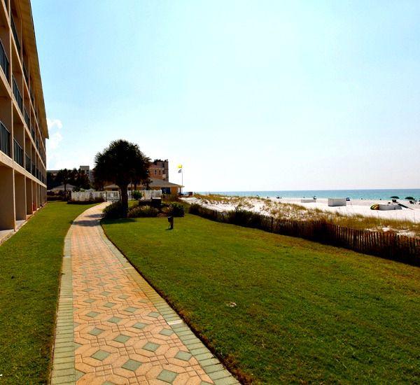 Easy walk in front of Windancer Condominiums in Destin Florida