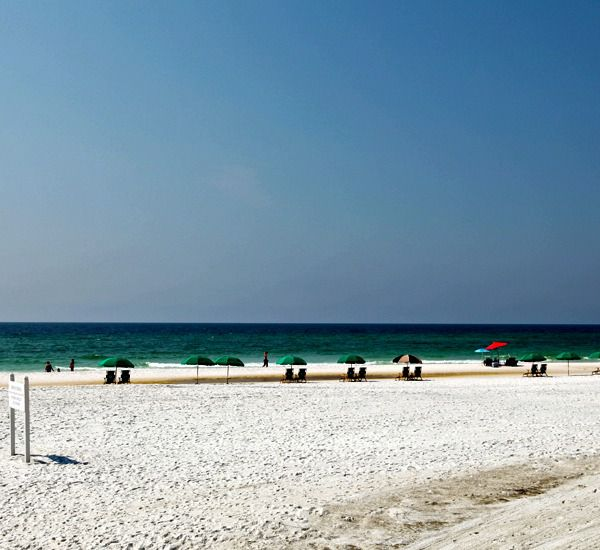 Put your toes in the sand at Windancer Condominiums  in Destin Florida