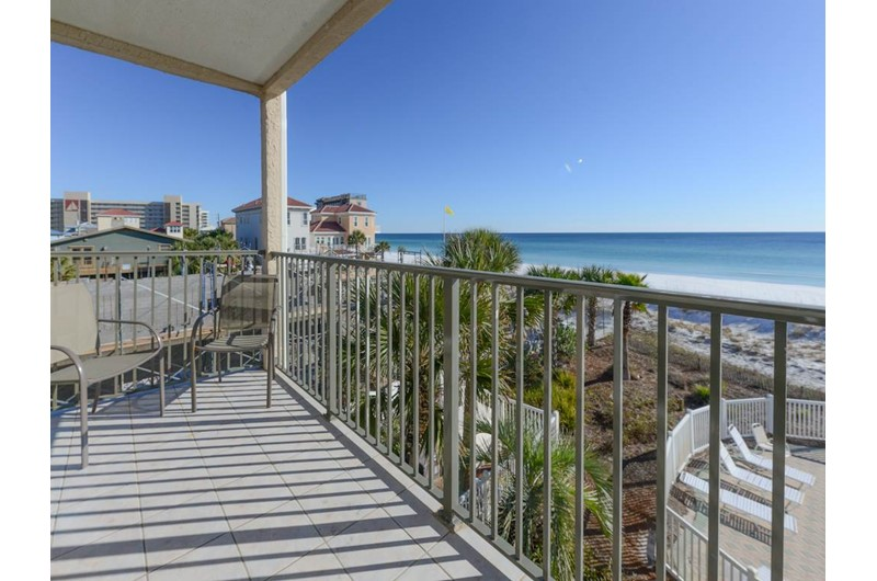 Great view from your balcony at Windancer in Destin Florida