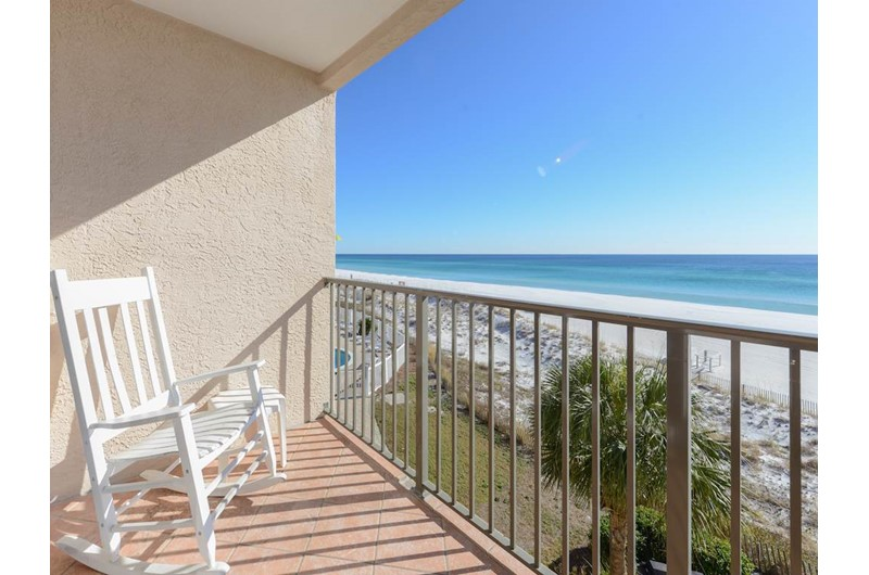 Enjoy the view from your balcony at Windancer in Destin Florida