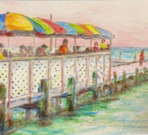 Dewey Destin's Seafood in Destin Florida