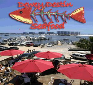 Dewey Destin's Harborside Restaurant in Destin Florida