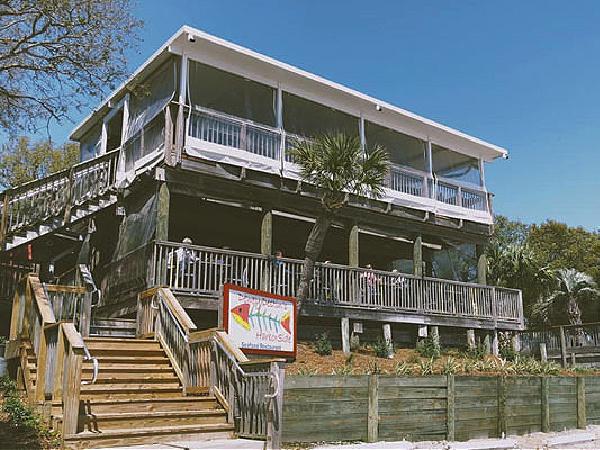 Dewey Destin's Harborside Restaurant in Destin Florida