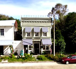Downtown Books and Purl in Apalachicola Florida