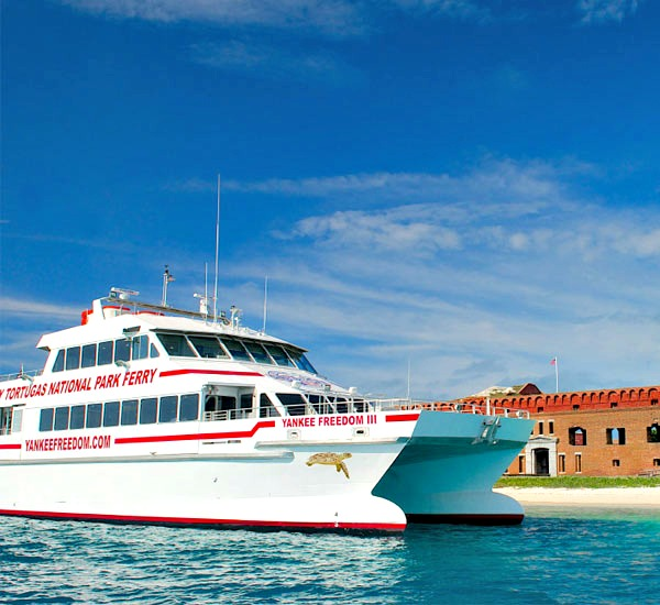 Dry Tortugas National Park Ferry in Key West Florida