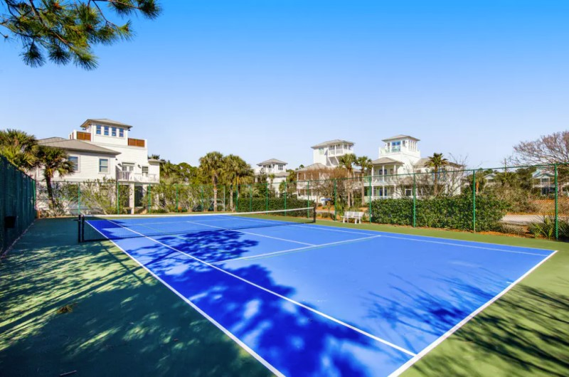 Tennis Courts at Dunes of Seagrove at Seagrove Beach Highway 30A