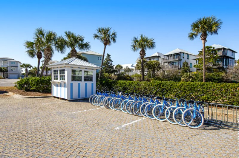 Bikes available at Dunes of Seagrove at Seagrove Beach Highway 30A