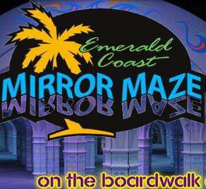 Emerald Coast Mirror Maze in Panama City Beach Florida