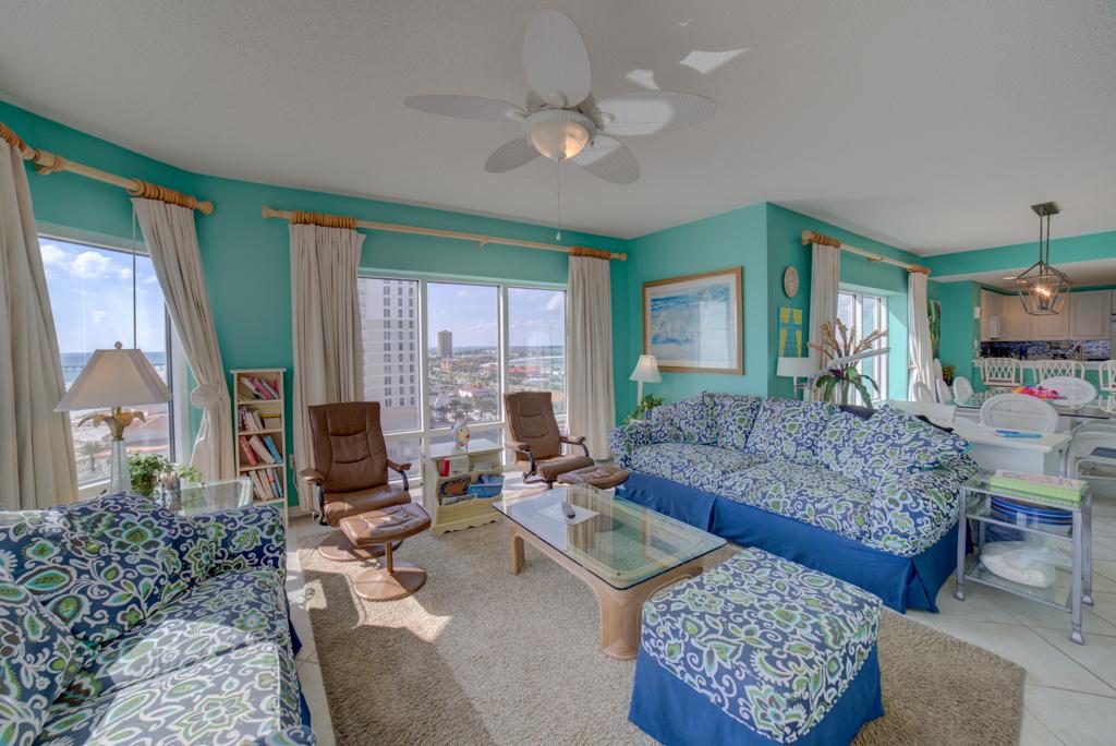 Emerald Isle #1008 Condo rental in Emerald Isle Pensacola Beach in Pensacola Beach Florida - #4