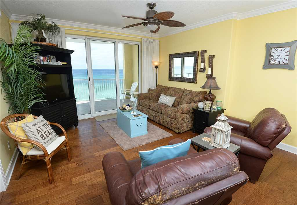Emerald Isle 506 2 Bedrooms Beachfront Wi-Fi Pool Sleeps 8 Condo rental in Emerald Isle in Panama City Beach Florida - #2