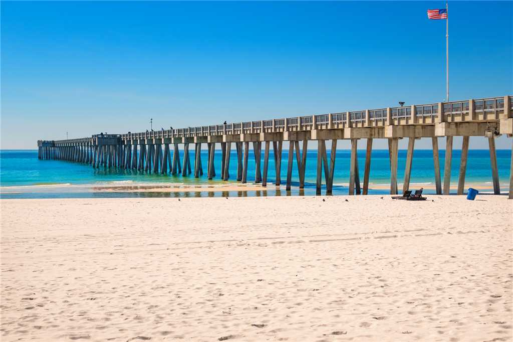 Emerald Isle 506 2 Bedrooms Beachfront Wi-Fi Pool Sleeps 8 Condo rental in Emerald Isle in Panama City Beach Florida - #32