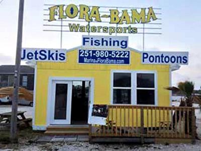 Flora-Bama Marina in Perdido Key Florida
