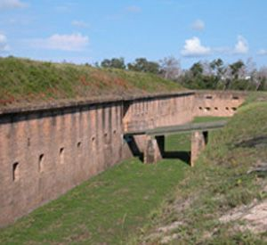 Fort Barrancas  in Pensacola Beach Florida