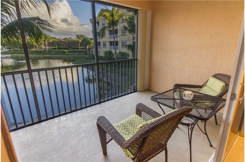 Wonderful views from Bella Lago in Fort Myers Beach Florida