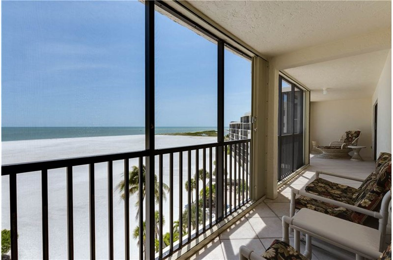 Relax on your balcony and look at the water at Carlos Pointe in Fort Myers FL