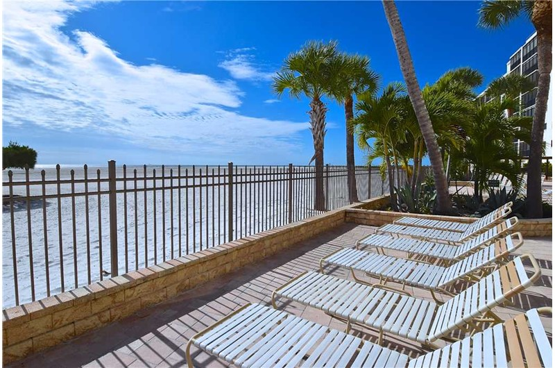 Lay in the sun and enjoy the view at Carlos Pointe in Fort Myers FL