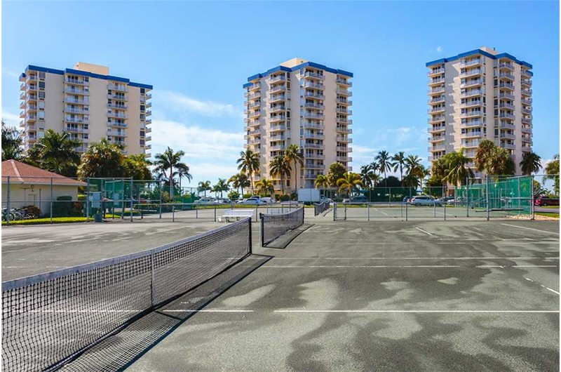 Enjoy some tennis at Estero Beach and Tennis Club in Fort Myers Beach FL