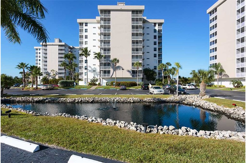 Estero Beach and Tennis Club in Fort Myers Beach FL is beach front