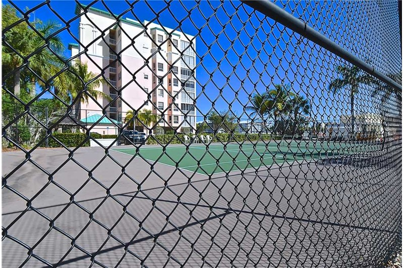 Play a round of tennis at Palm Harbor in Fort Myers Beach FL