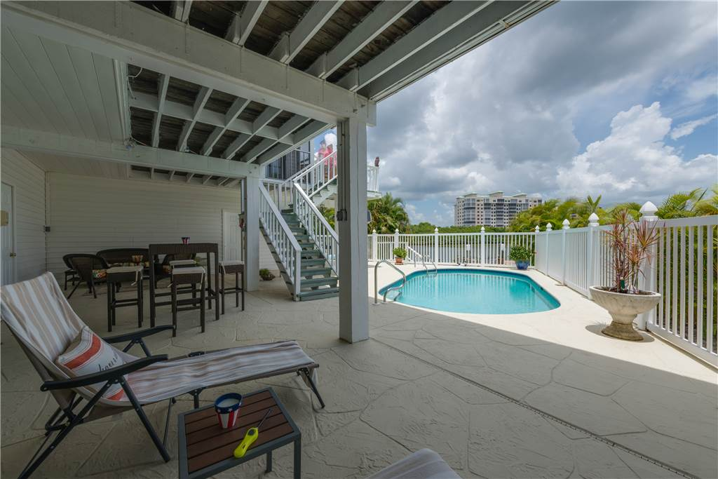 Lagoon Beach House 3 Bedrooms Walk to Gulf Private Pool Sleeps 6 House / Cottage rental in Fort Myers Beach House Rentals in Fort Myers Beach Florida - #30