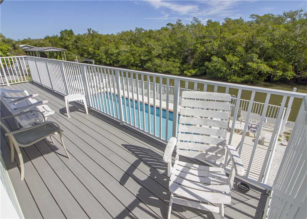 Tropical Shores Upper Level 4 Bedroom Private Heated Pool Sleeps 12 House / Cottage rental in Fort Myers Beach House Rentals in Fort Myers Beach Florida - #22