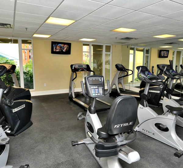 Fitness center at Azure Fort Walton Beach