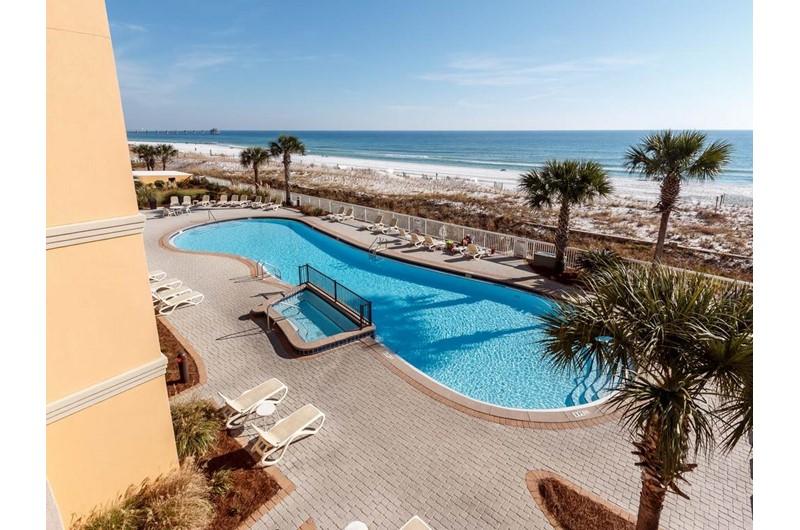 Huge pool at Azure in Fort Walton Beach Florida