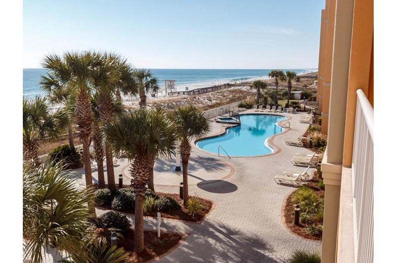 Nice pool at Azure in Fort Walton Beach Florida