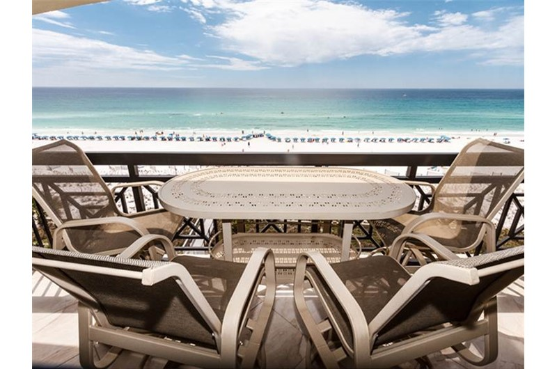 Enjoy the Gulf view from Azure in Fort Walton Beach Florida